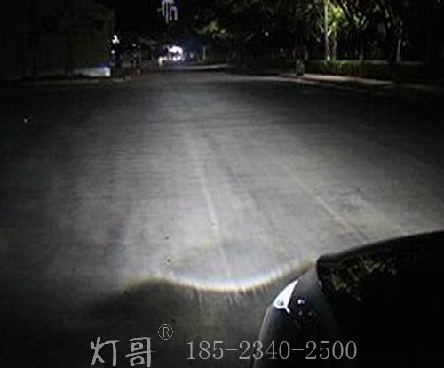 重庆12-15款迈腾加装龙鼎大灯总成